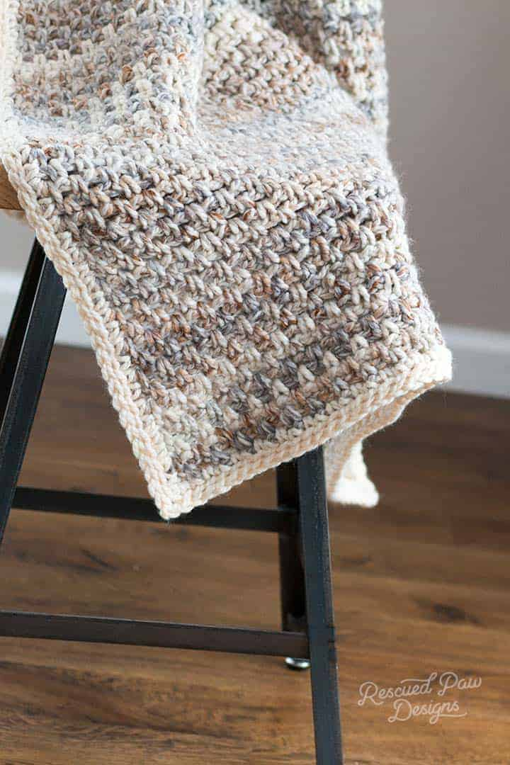 Easy Crochet Blanket Pattern in Eight Afghan Sizes