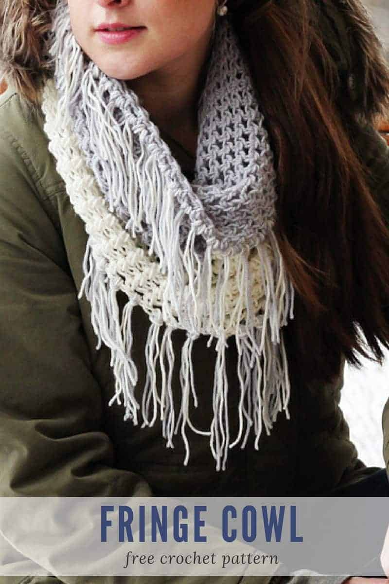 Fridge Cowl Crochet Pattern - Make Last Minute Crochet Christmas Gifts in a Weekend! www.easycrochet.com