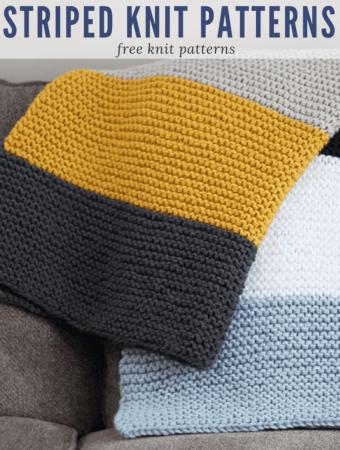 Striped Knit Patterns