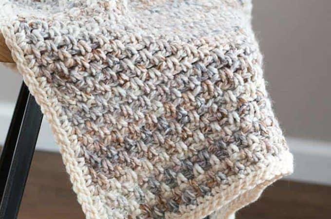 Jane Crochet Throw Blanket