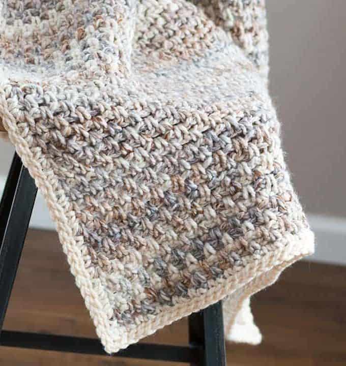 Jane Crochet Throw Blanket