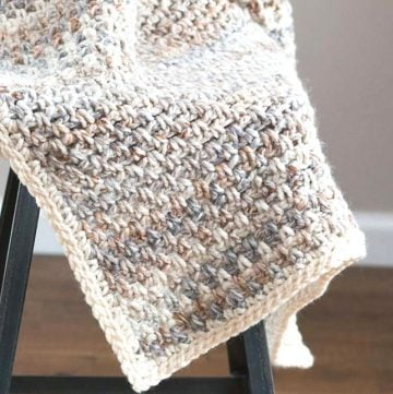 Jane crochet baby blanket