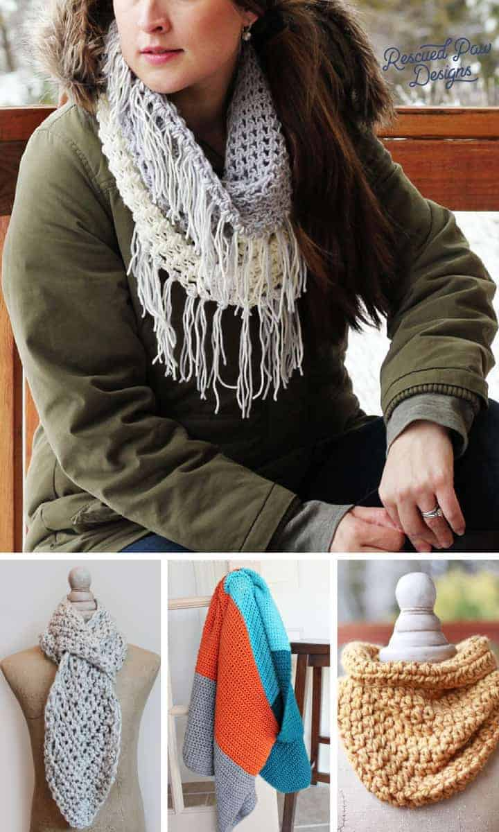 Free Last Minute Gifts using Simple Crochet Patterns - Make Last Minute Crochet Christmas Gifts in a Weekend! www.easycrochet.com