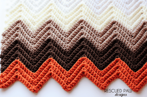 Chevron Crochet Stitch Guide
