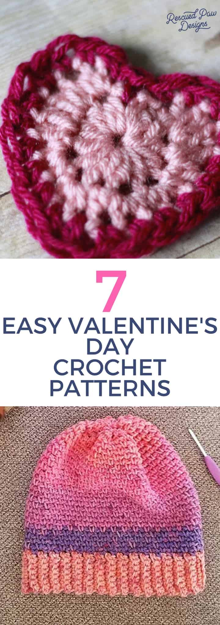 7 Easy Valentine\'s Day Crochet Patterns - Crochet Valentines Day ...