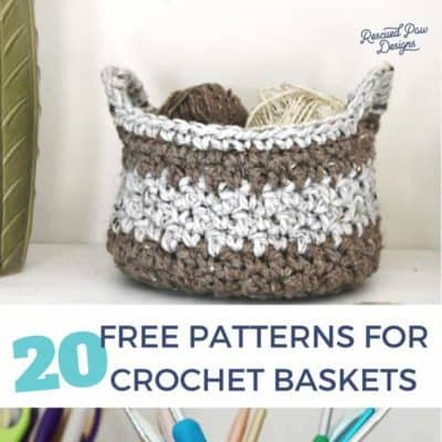 20 Free Crochet Basket Patterns