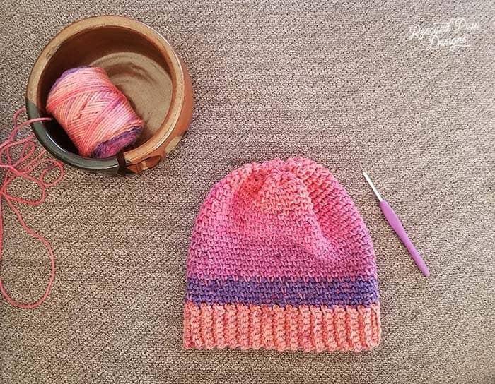 Caron Cupcakes Crochet Hat Pattern