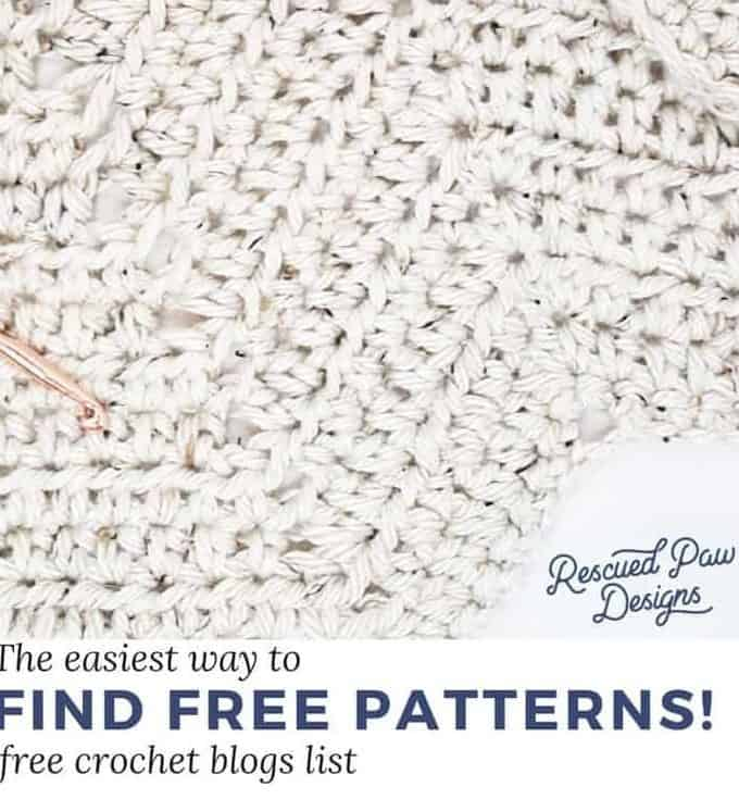 Crochet Blogs with Free Patterns