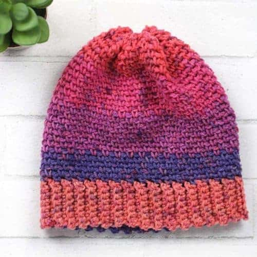 Simply Sweet Crochet Beanie Pattern