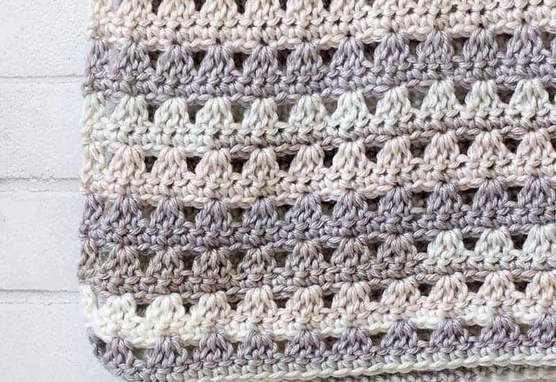 Alissa Easy Crochet Throw