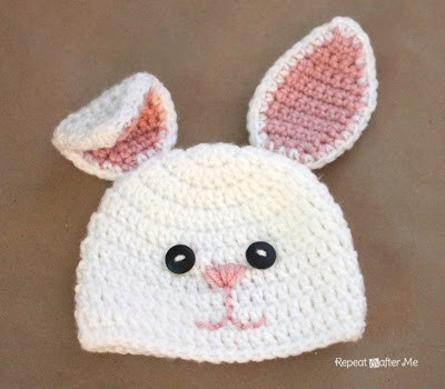 Crochet Easter Baby Hat