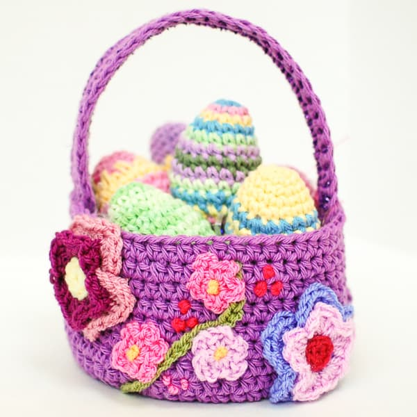 Crochet Easter Basket Pattern