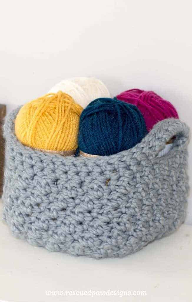 Crochet Basket Patten perfect for Easter