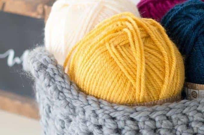 Crochet Storage Basket