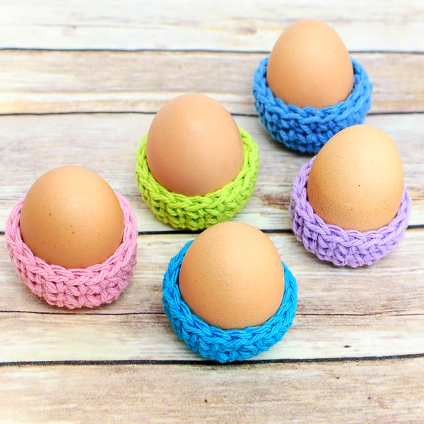 Free Crochet Pattern for Easter Egg Covers