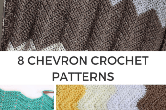 8 Chevron Crochet patterns