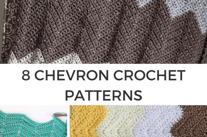 8 Crochet Chevron Patterns
