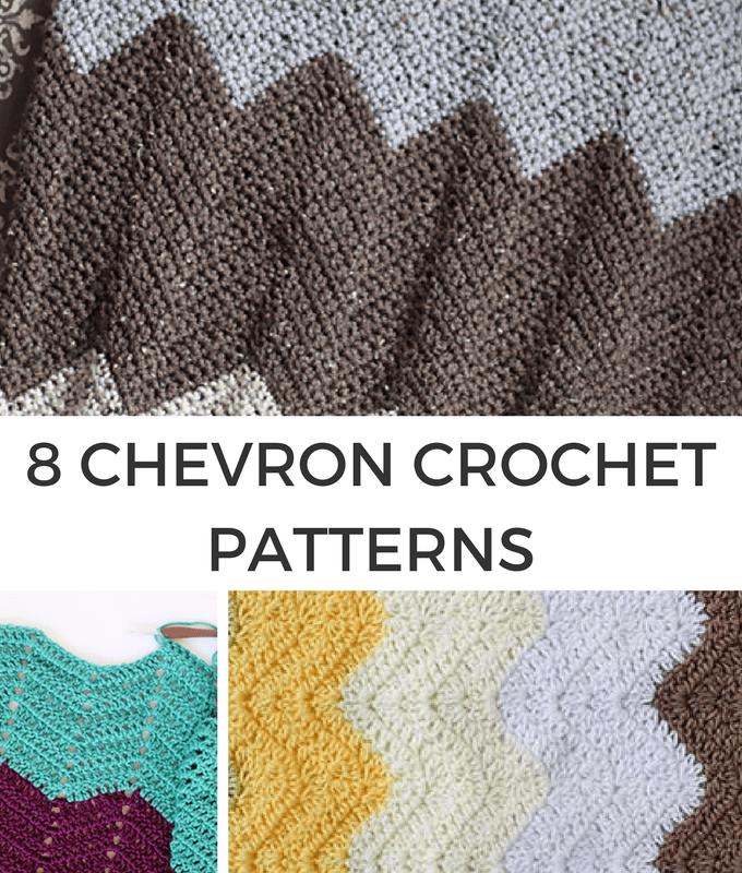 8 Chevron Crochet patterns