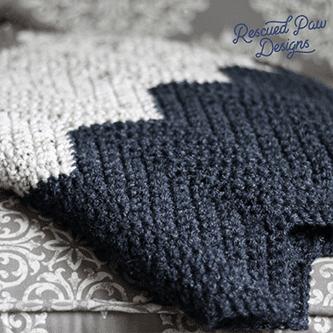 Neutral Chevron Crochet Pattern