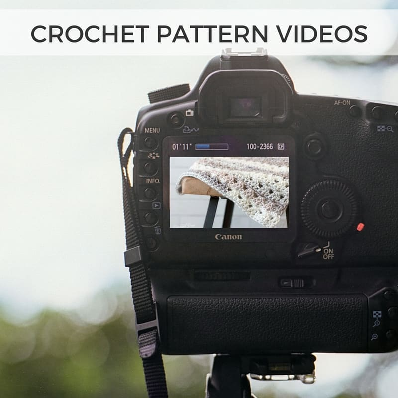 Free Crochet Pattern Videos Youtube Crochet Videos To Help You