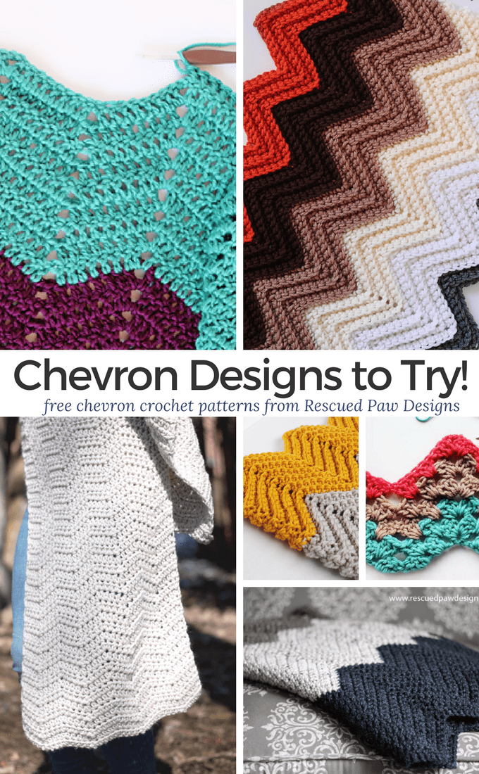 Crochet Chevron Patterns Free