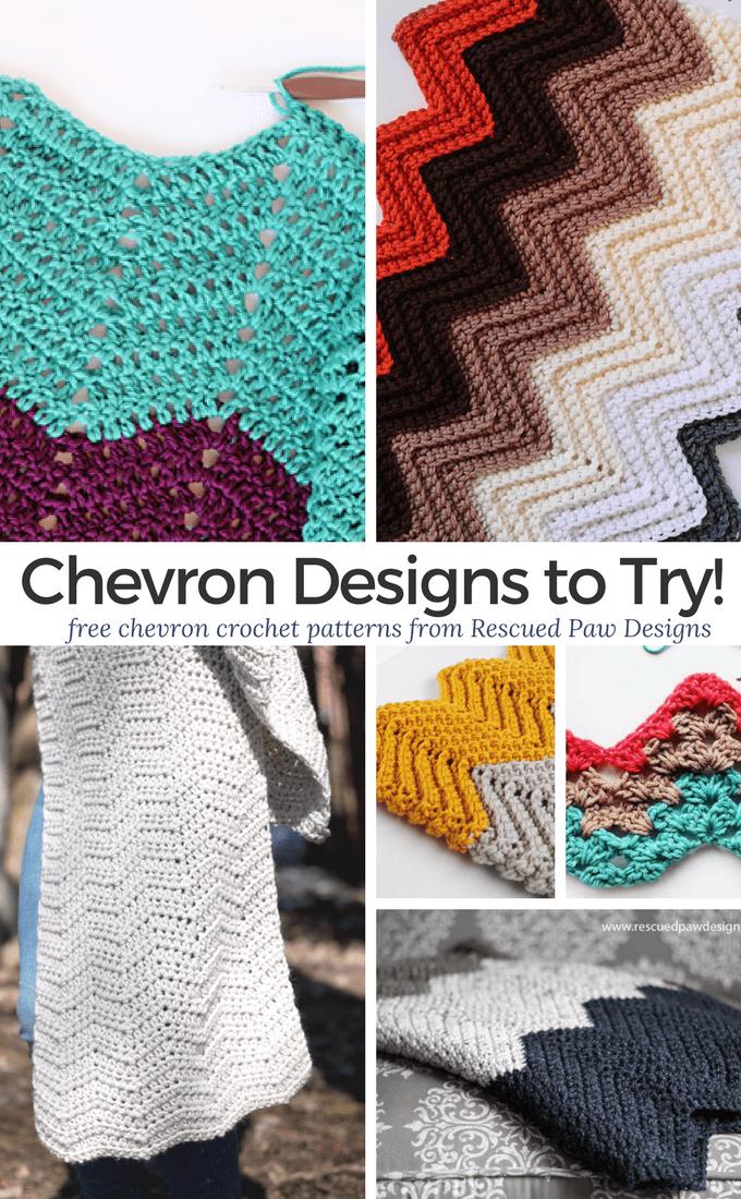 Crochet Chevron Patterns Free