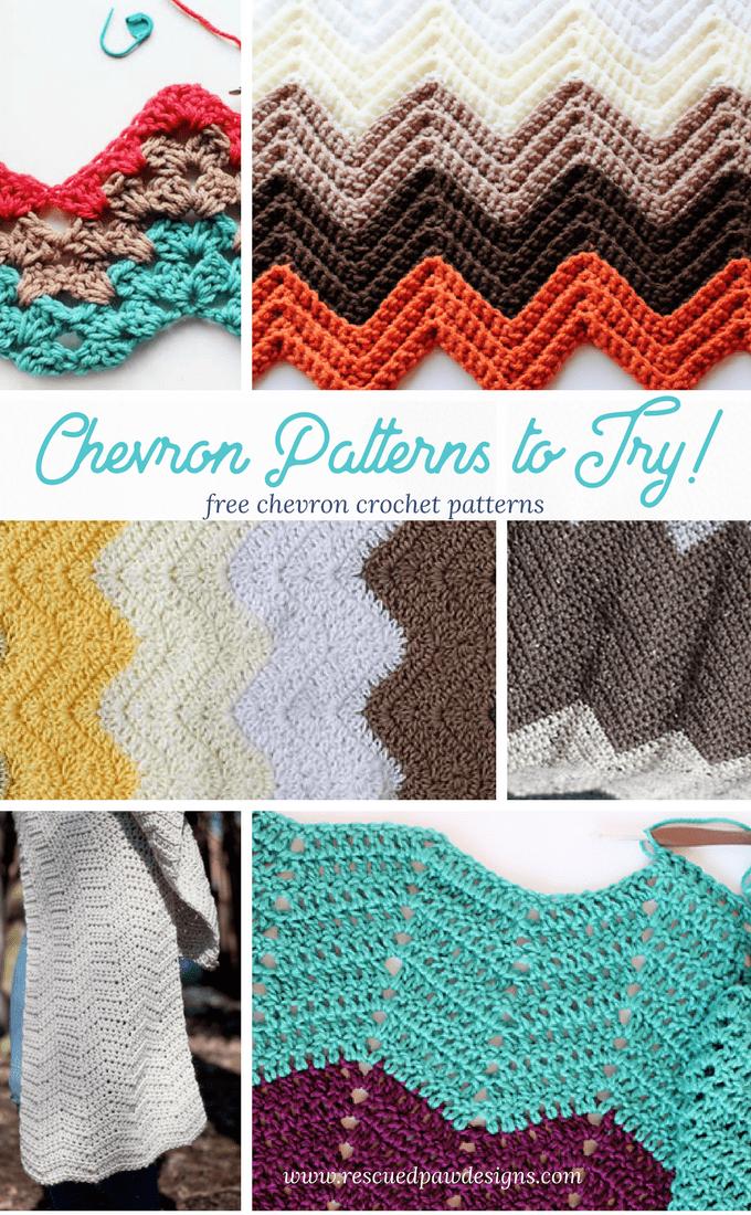 Crochet Chevron Patterns Roundup
