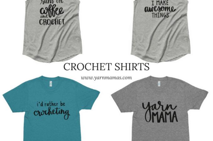 Crochet Shirts from Yarn Mamas