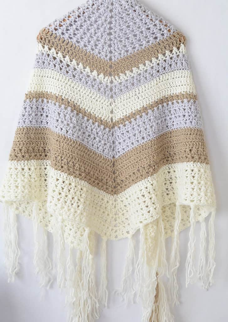 Crochet Wrap From Mama in A Stitch