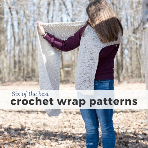 6 Free Crochet Wrap Patterns