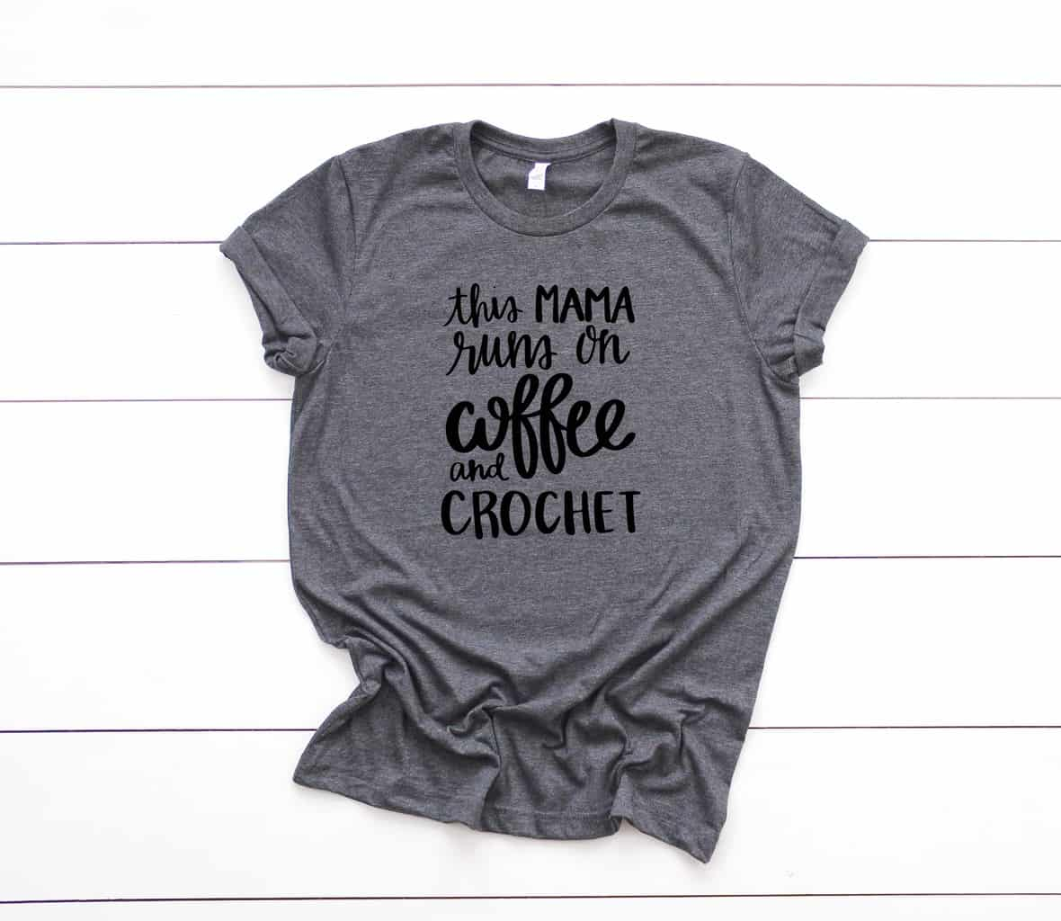 d2d7a84a Crochet T-Shirts - Funny Crochet Shirts from Yarn Mamas