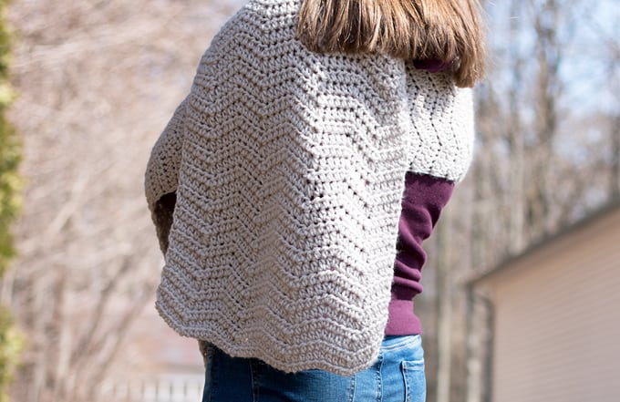 Crochet Wrap Pattern by Rescued Paw Designs