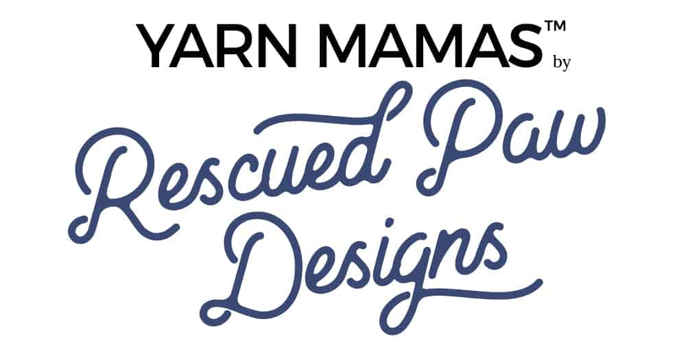 Yarn Mamas by Rescued Paw Designs Logo