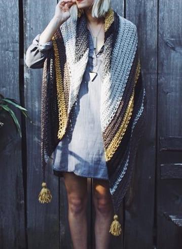 Crochet Shawl Wrap Pattern