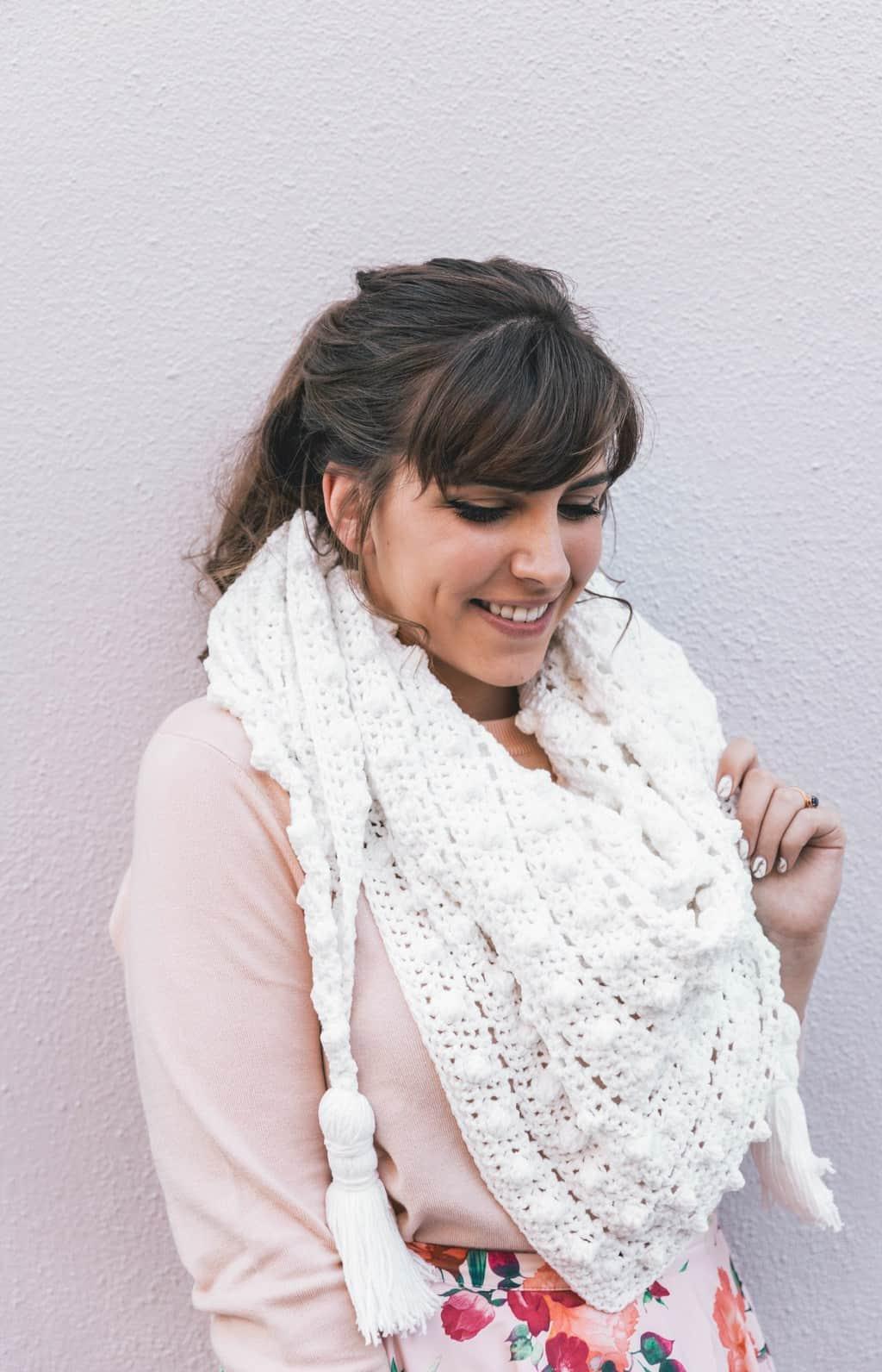 Le Nuage Crochet Wrap Pattern
