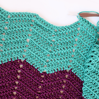 Classic Chevron Crochet Stitch Pattern