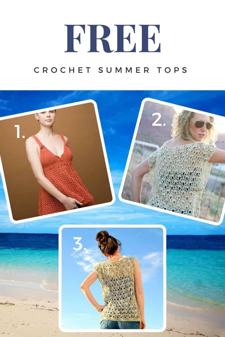 Free crochet summer top patterns