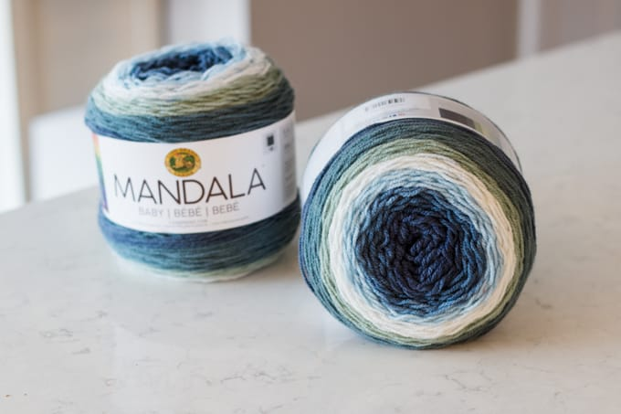Mandala Yarn from Lion Brand