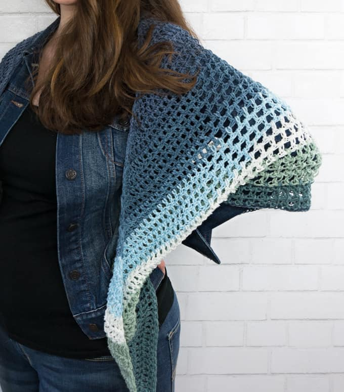 Triangle Wrap Pattern