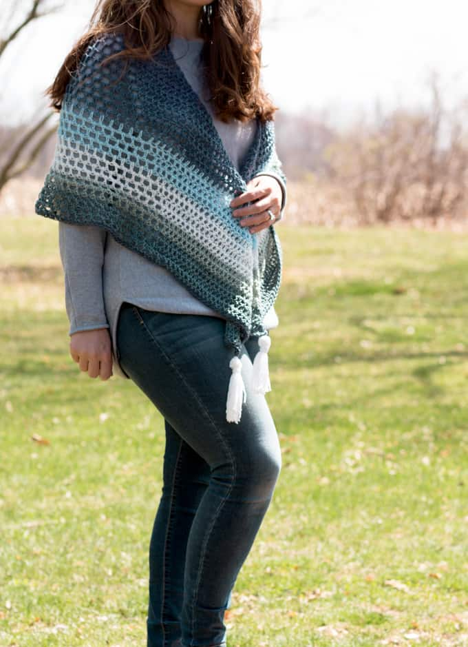 Wrap Triangle Crochet Pattern