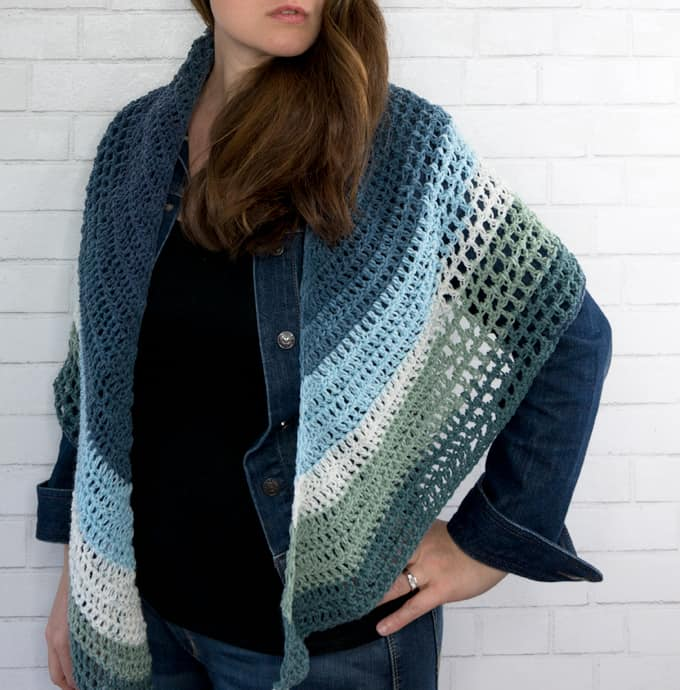 Crochet Wrap Triangle Pattern