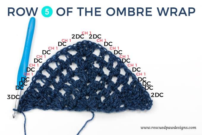 Wrap Crochet Stitch