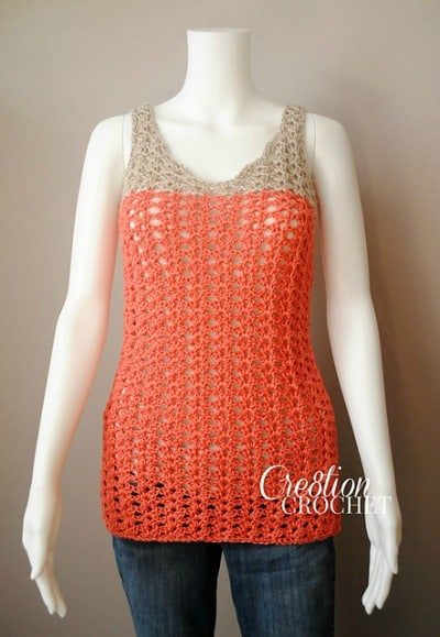 Crochet Summer Tank Top Pattern