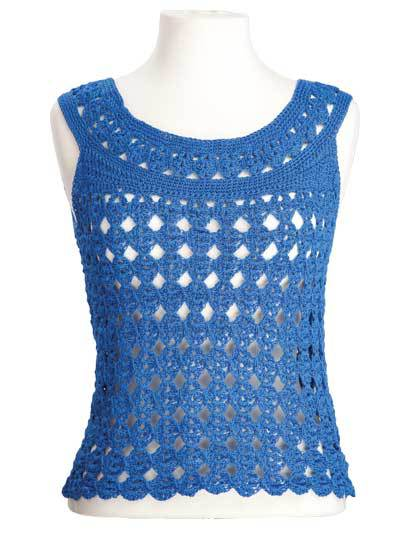 Summer Crochet Tank Top Pattern