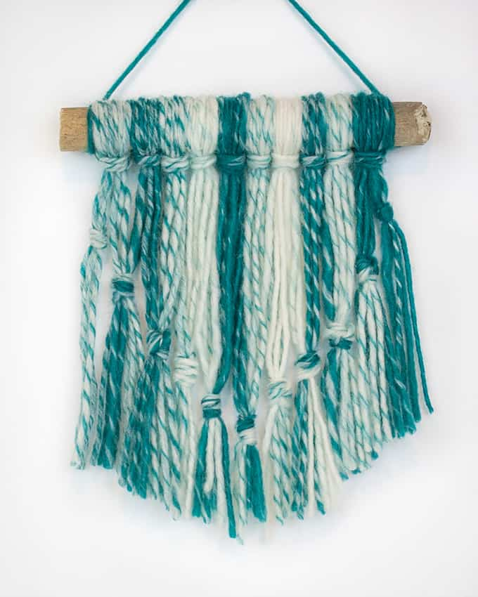 knotted wall hanging