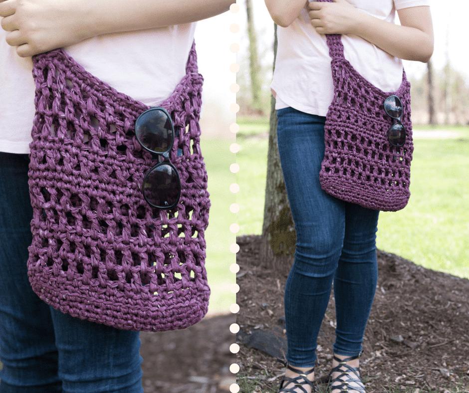 crochet crossbody bag pattern