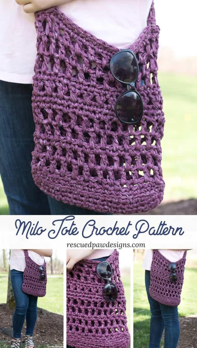 How to Crochet a Market Bag