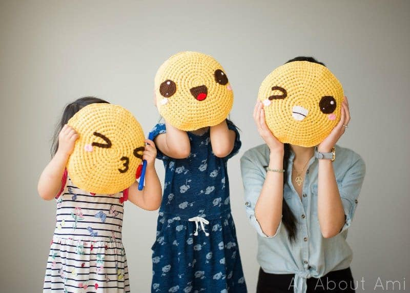 Emoji Pillows by All About Ami