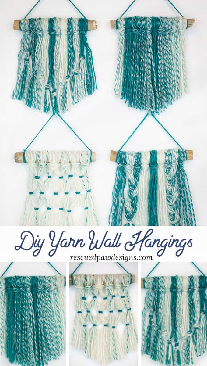 yarn hanging tutorials