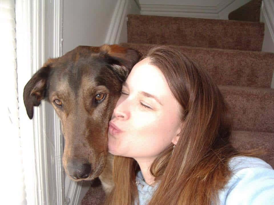 Kissing Dog